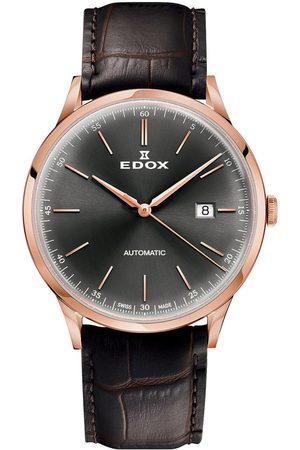Edox Reloj analógico 80106-37RC-GIR, Automatic, 42mm, 5ATM para hombre