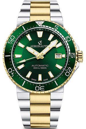 Aeronautec Reloj analógico ANT-44086-04, Automatic, 43mm, 20ATM para hombre