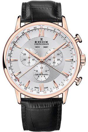 Edox Reloj analógico 10501-37R-AIR, Quartz, 42mm, 3ATM para hombre