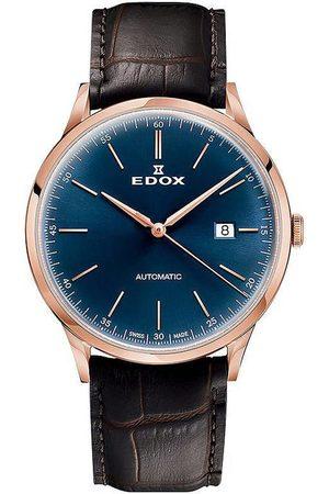 Edox Reloj analógico 80106-37RC-BUIR, Automatic, 42mm, 5ATM para hombre