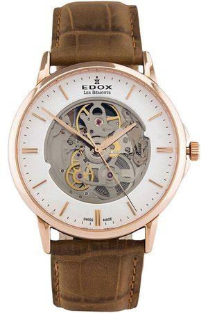 Edox Reloj analógico 85300-37R-AIR, Automatic, 42mm, 3ATM para hombre