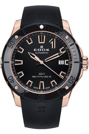 Edox Reloj analógico 80119-37RN-NIR, Automatic, 42mm, 30ATM para hombre