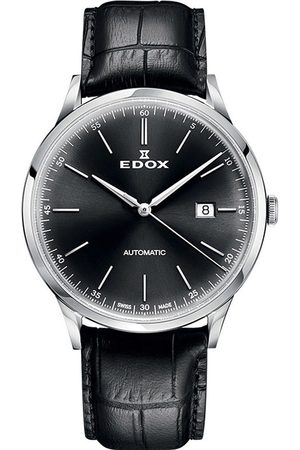 Edox Reloj analógico 80106-3C-NIN, Automatic, 42mm, 5ATM para hombre