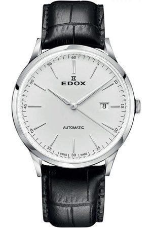 Edox Reloj analógico 80106-3C-AIN, Automatic, 42mm, 5ATM para hombre