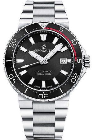 Aeronautec Reloj analógico ANT-44086-01, Automatic, 43mm, 20ATM para hombre