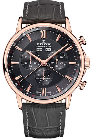 Edox Reloj analógico 10501-37R-GIR, Quartz, 42mm, 3ATM para hombre
