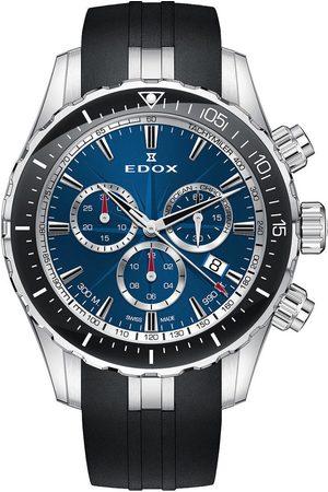 Edox Reloj analógico 10248-3-BUINN, Quartz, 43mm, 30ATM para hombre