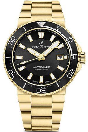 Aeronautec Hombre Relojes - Reloj analógico ANT-44086-05, Automatic, 43mm, 20ATM para hombre
