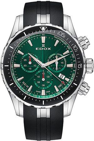 Edox Reloj analógico 10248-3-VIBN, Quartz, 43mm, 30ATM para hombre