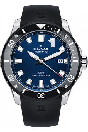 Edox Reloj analógico 80119-3N-BUIN, Automatic, 42mm, 30ATM para hombre