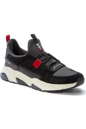 Keddo Zapatillas Zapatillas casual negras para hombre