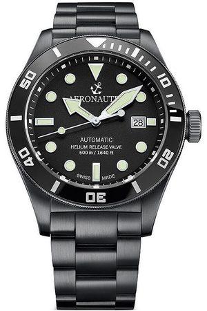 Aeronautec Reloj analógico ANT-44075-04, Automatic, 44mm, 50ATM para hombre