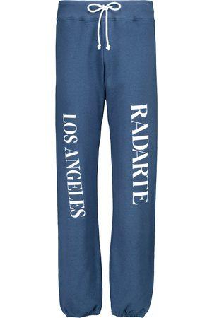 RODARTE Pantalones de chándal de algodón con logo
