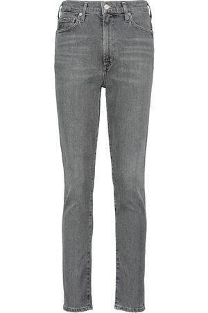 Citizens of Humanity Jeans Olivia de talle alto cropped