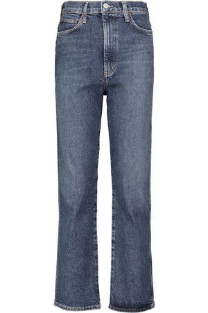 AGOLDE Jeans ajustados Pinch de talle alto