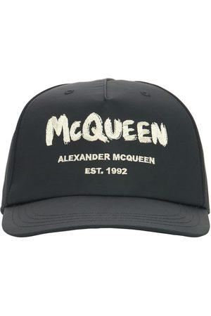 Alexander McQueen | Hombre Gorra De Baseball De Nylon Con Logo Graffiti M