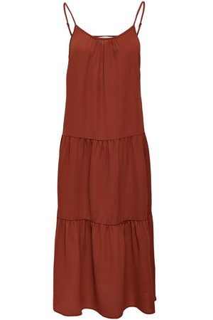 ONLY Mujer Midi - SOLID COLORED MIDI DRESS