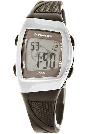 Dunlop DSUCC1 - Reloj digital de mujer de cuarzo con correa de goma (alarma, cronómetro