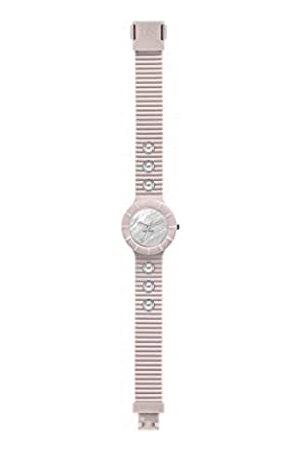 Hip Mujer Relojes - Reloj Mujer Pearls Esfera e Correa in silicio, Glam Rosado