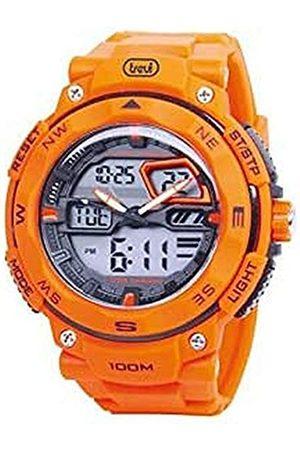 Trevi Reloj Digital para Hombre de Automático con Correa en Caucho 0SG32009