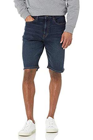 Amazon Pantalón Corto de Mezclilla con Entrepierna de 28 cm. Denim-Shorts
