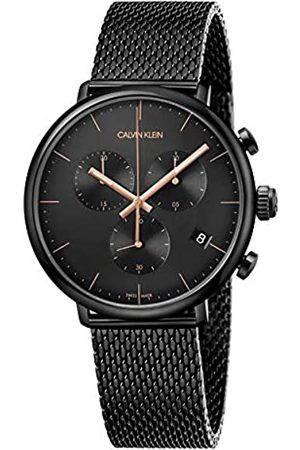 Calvin Klein Reloj Cronógrafo para Unisex Adultos de Cuarzo con Correa en Acero Inoxidable K8M27421