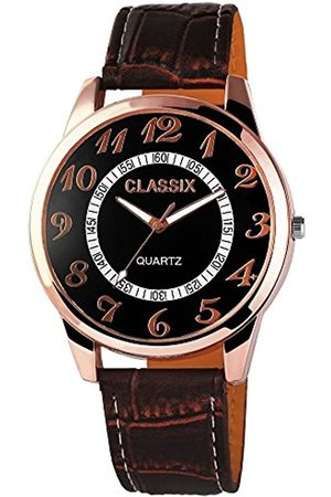 Classix Hombre Relojes - RelojAnalógicoparaHombredeCuarzoconCorreaenCueroRP4783110005