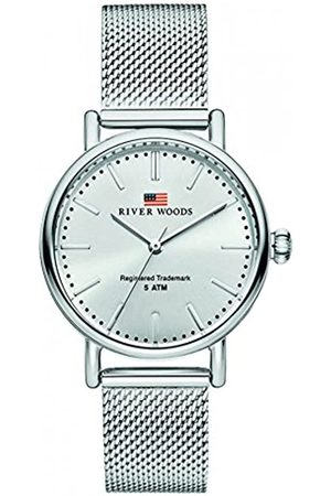 River Woods Mujer Relojes - Reloj Analógico para Mujer de Cuarzo con Correa en Acero Inoxidable RW340020