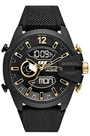 Diesel Reloj Analógico para de los Hombres de Digital con Correa en Nailon DZ4552