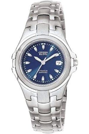 Citizen Mujer Relojes - Reloj Analógico para Mujer de Cuarzo con Correa en Titanio EW0650-51L