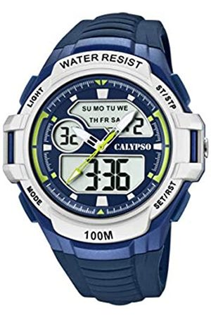 Calypso Reloj Analógico-Digital para Hombre de Cuarzo con Correa en Plástico K5770/3