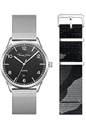 Thomas Sabo Reloj Analógico para Unisex Adultos de Cuarzo con Correa en Acero Inoxidable LOOK19_02_012