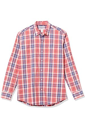 Amazon Long-Sleeve Regular-fit Casual Poplin Shirt Camisa L