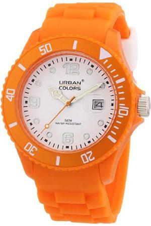 Urban Colors 360290.61 - Reloj analógico de Cuarzo Unisex con Correa de Silicona
