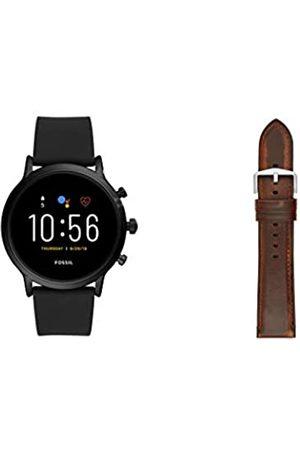 Fossil Hombre Relojes - SmartwatchGen5paraHombreconPantallatáctilAltavozfrecuenciacardíacaGPSNFCynotificacionessmartwatch+CorreaparaRelojS221299