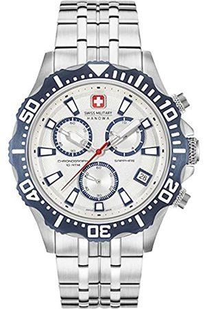 Swiss Military Hanowa Reloj Analógico para Hombre de Cuarzo con Correa en Acero Inoxidable 06-5305.04.001.03