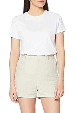 MERAKI Mujer Pantalones cortos - Marca Amazon - Shorts de Lino Mujer, 36