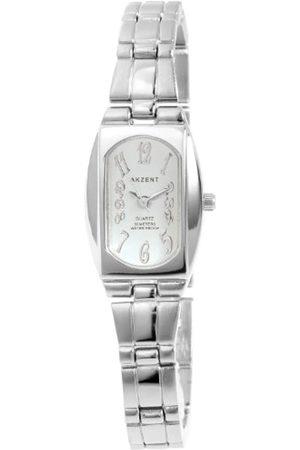 Akzent Mujer Relojes - SS7123500064 - Reloj analógico de mujer de cuarzo con correa de aleación - sumergible a 30 metros