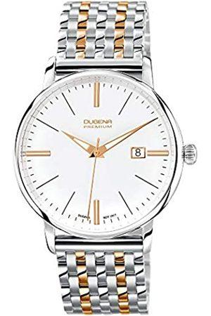 DUGENA Premium - Reloj de Cuarzo para Hombre, con Correa de Acero Inoxidable