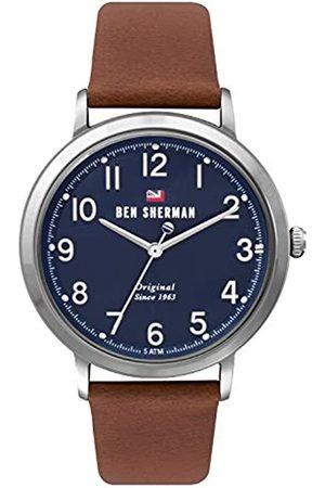 Ben Sherman Reloj Analógico para Hombre de Cuarzo con Correa en Cuero WBS113UT