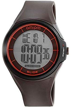 AM.PM Reloj Analog-Digital para Mens de Automatic con Correa en Cloth S0332169