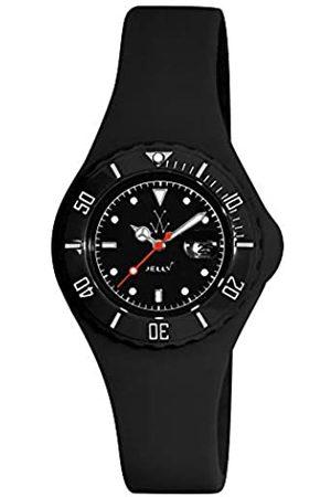 Toy Watch Relojes - JY12BK - Reloj analógico de Cuarzo Unisex con Correa de Silicona