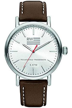 River Woods Reloj Analógico para Hombre de Cuarzo con Correa en Cuero RW420026