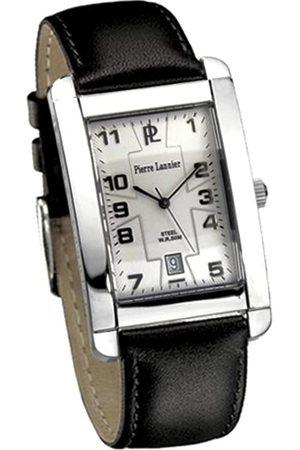 Pierre Lannier Hombre Relojes - 196C103 - Reloj analógico de Cuarzo para Hombre con Correa de Piel