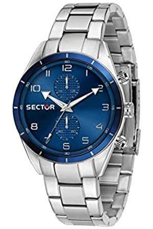 Sector No Limits Hombre Relojes - Reloj Analógico para Hombre de Cuarzo con Correa en Acero Inoxidable R3253516004