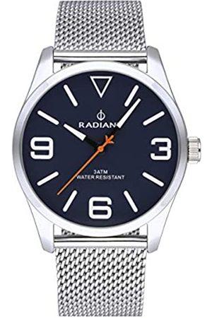 Radiant Reloj analógico para Hombre de . Colección Darth. Reloj con Malla milanesa y Esfera Azul. 3ATM. 42mm. Referencia RA533203.