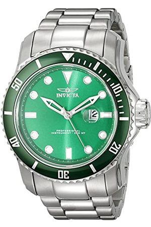 Invicta Hombre Relojes - 20096 Pro Diver Reloj para Hombre acero inoxidable Cuarzo Esfera