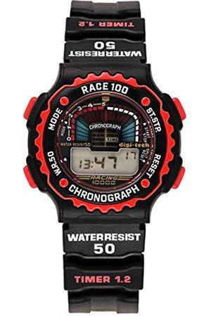 Digi-Tech Hombre Relojes - Reloj Digital para Hombre de Cuarzo con Correa en Caucho DT102914