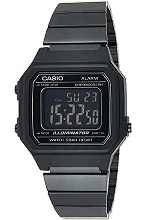 Casio Hombre Relojes - Reloj Digital para Hombre de Cuarzo con Correa en Acero Inoxidable B650WB-1BEF