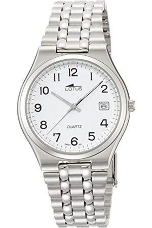 Lotus Hombre Relojes - Reloj para con Y Plata Acero Inoxidable 15031/2